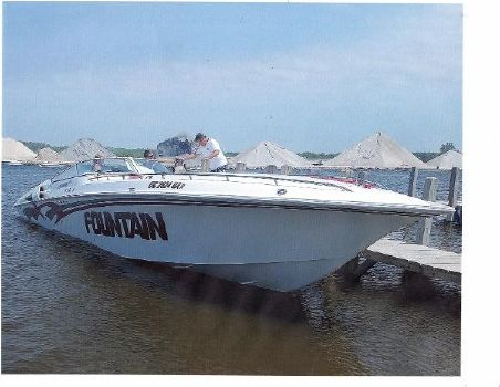 1999 Fountain 47 Lightning Triple
