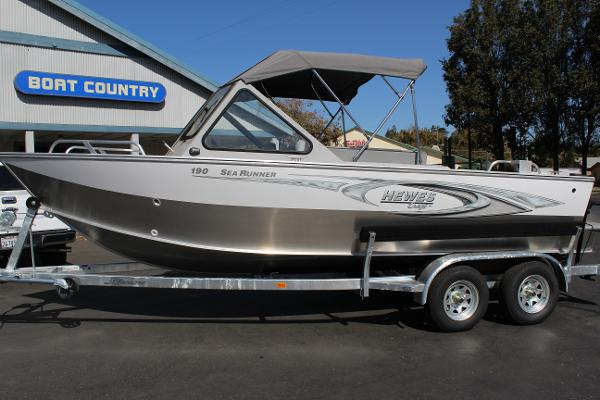 2017 Hewescraft 190 Sea Runner