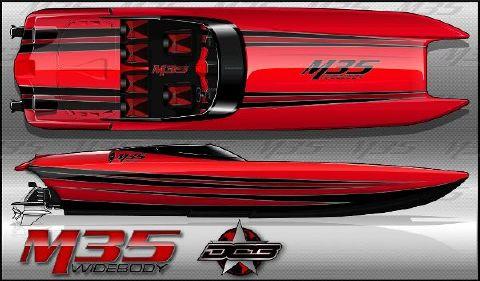 2016 Daves Custom Boats M35