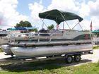1999 SUN TRACKER 21 Fishin Barge