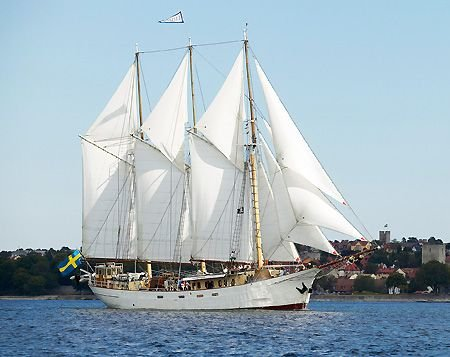 1918 Custom 3-masted Schooner