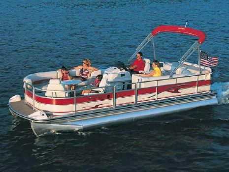 2003 Harris Classic 240 with 135HP