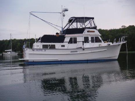 1996 Monk 36 Trawler