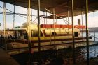 1985 Boatel Flybridge Pontoon Houseboat