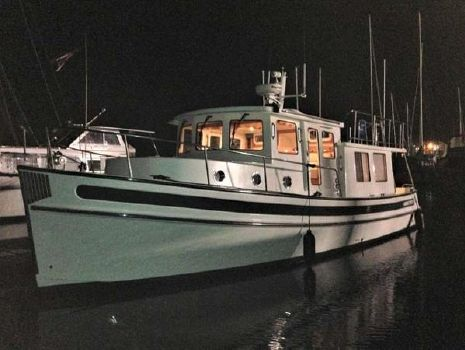 2007 Nordic 37 Docked at night time