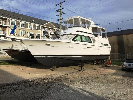 1991 Hatteras 40 Motor Yacht