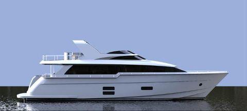 2015 Hatteras 70MY Motor Yacht