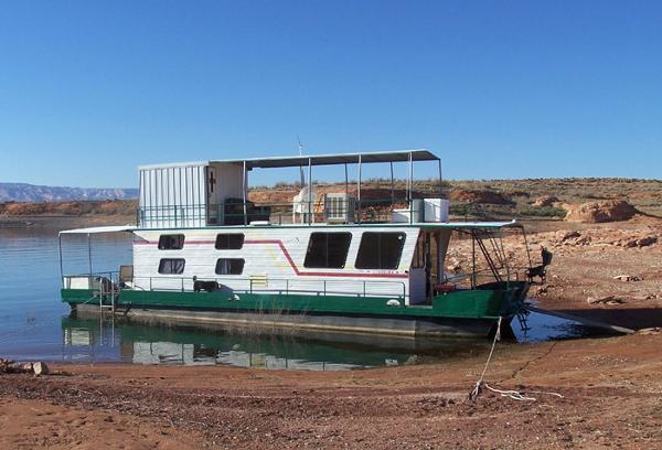 1983 Boatel 50' 1/4 Multi-Ownership Pontoon Houseboat
