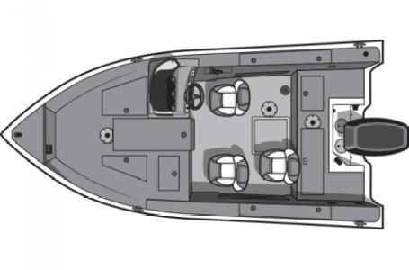 2017 Smoker-craft Pro Angler XL 171 XL