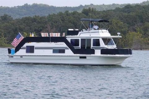1993 Harbor Master 52 Wide Body
