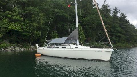1995 J Boats J/120 with all carbon spars