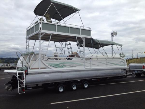 2007 JC PONTOON 306 TriToon