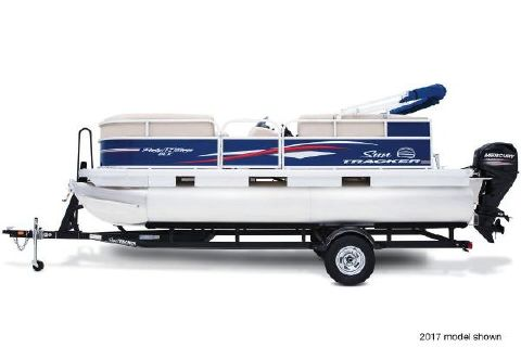 2018 Sun Tracker Party Barge 18 DLX
