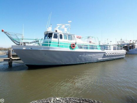 1963 Stewart Seacraft 64 Crew Boat with 2013 engines 1963 Sewart Seacraft 64 Crew Boat for sale in Buras, LA