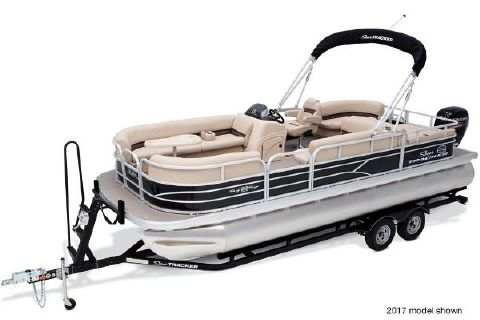 2018 Sun Tracker Party Barge 22 DLX