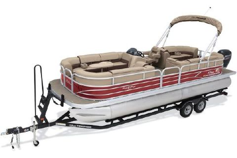 2018 SUN TRACKER Party Barge 24 DLX