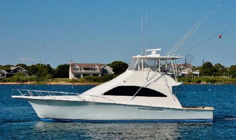 2004 Ocean Yachts 50 Super Sport Port Side