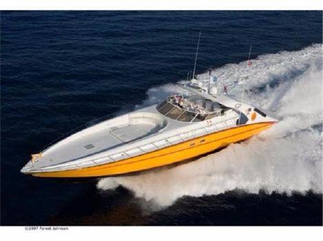 2004 schoell marine High Speed Offshore Sport Cruiser 85' Schoell Marine Motor Yacht PURELY PLEASURE