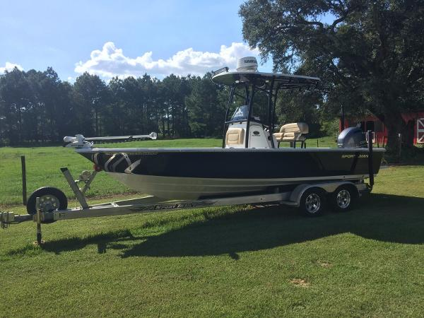 Check out this 2015 SPORTSMAN Masters 227 Bay Boat on Boattrader com