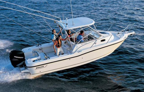 2010 Boston Whaler 235 Conquest Manufacturer Provided Image