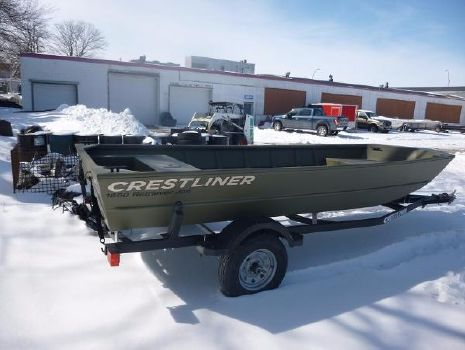 2017 CRESTLINER 1650 Retriever Jon