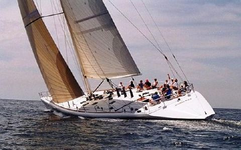 1996 Custom Cruise - Racer Underway