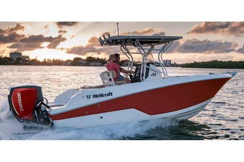 2017 Wellcraft 222 Fisherman Manufacturer Provided Image