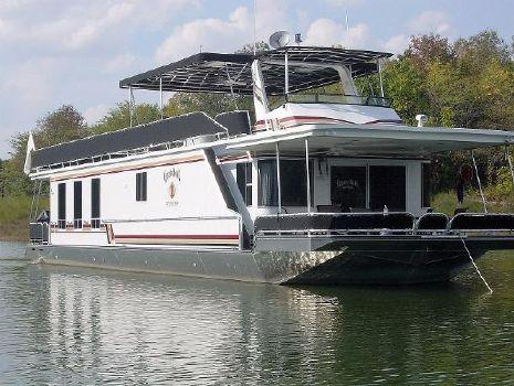 2007 Sunstar 17' x 75' Houseboat Exterior 1