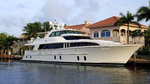 2008 Cheoy Lee Motoryacht LADY PEGASUS at dock