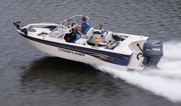 1996 Crestliner 20 LSI W/ 75ETC