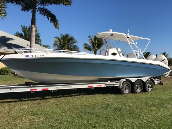 2007 Sonic 32 Sport 32' Sonic port profile