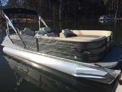 2016 Crest Pontoon Boats CARIBBEAN 250 SLR2