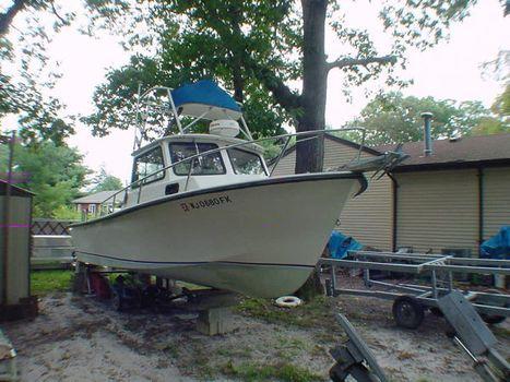 1986 STEIGER CRAFT cabin
