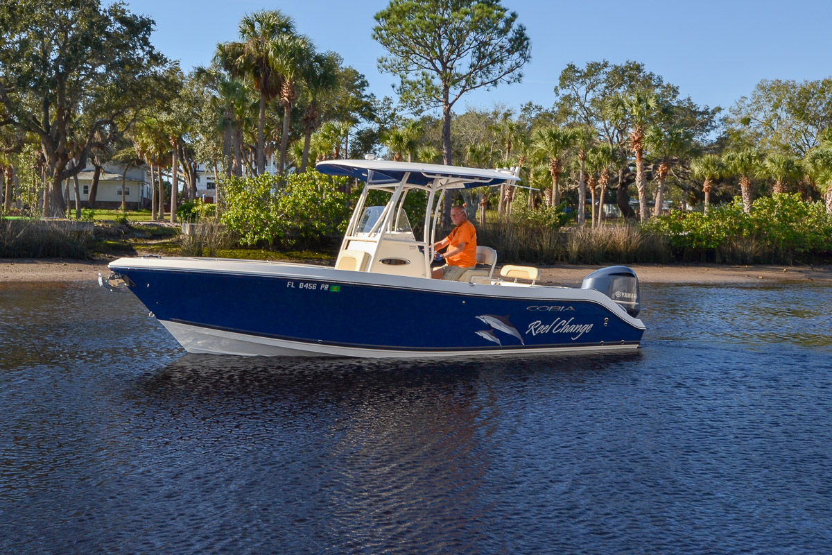 Check out this 2014 COBIA BOATS 237 Center Console on Boattrader com