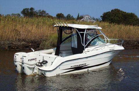 2009 Hydrasports 2500-vx