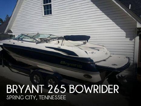 2008 Bryant 265 Bowrider