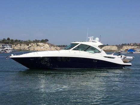 2006 Sea Ray 48 Sundancer Port Profile - Stylish Sea Ray Blue Hull