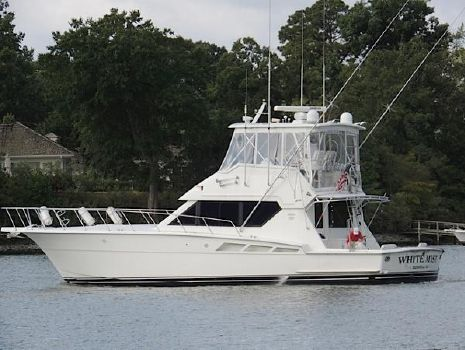 1993 Hatteras 50 Convertible Profile