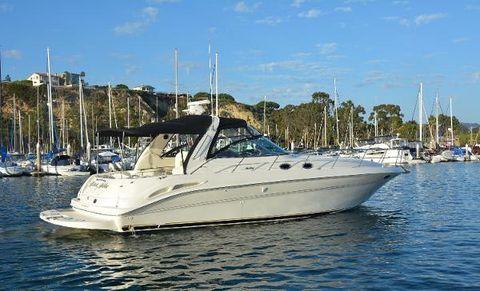 2000 Sea Ray 410 Express Cruiser Profile