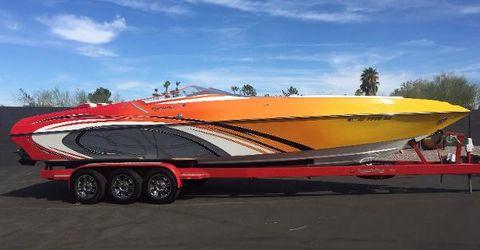 2010 Kachina Boats 34' DRONE
