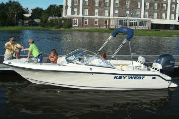 2013 Key West 186 Dual Console