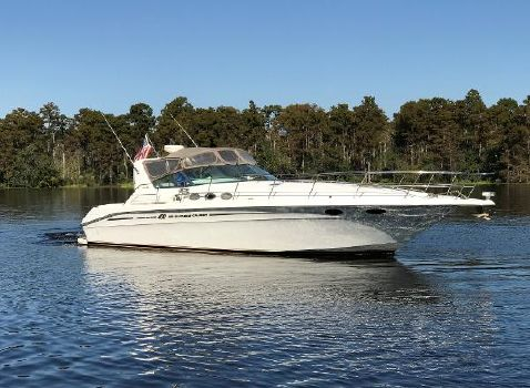 1997 Sea Ray 400 Express Cruiser Profile