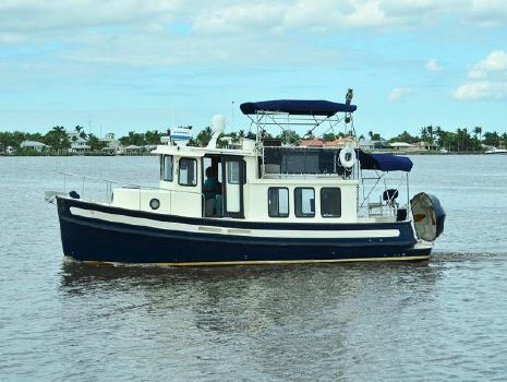 2002 Nordic Tugs Pilothouse Profile