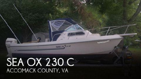 1986 Sea Ox 200 Cc 1986 Sea Ox 230 C for sale in Oak Hall, VA