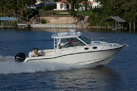 2017 Boston Whaler 315 Conquest Manufacturer Provided Image