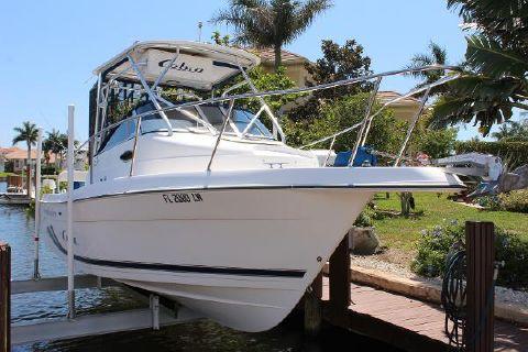 2002 Cobia Boats 250 Walkaround
