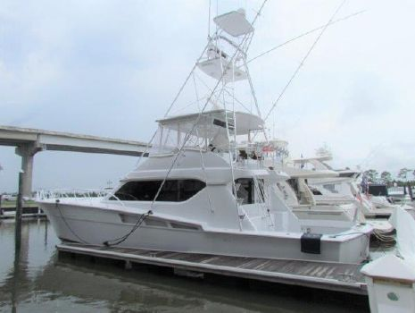 1999 Hatteras Convertible Profile Port View