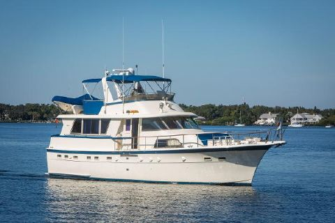 1983 HATTERAS Hatteras Wide Body Extended Deckhouse