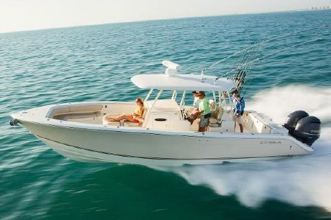 2017 Cobia Boats 344 Center Console Manufacturer Provided Image