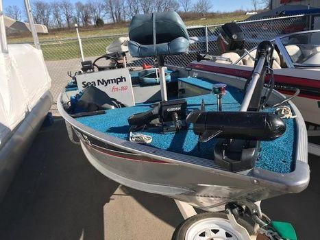 1986 Sea Nymph 16 Fishing Machine